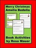 Merry Christmas, ,Amelia Bedelia, Book Companion, Reading, Activities