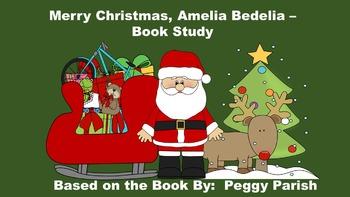 Merry Christmas Amelia Bedelia - Book Study