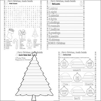 Merry Christmas Amelia Bedelia : Comprehension Activity Unit Pack, Idioms, Tests