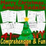 Merry Christmas Amelia Bedelia Book Companion Comprehension & Idioms 21p