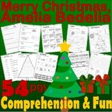 Merry Christmas Amelia Bedelia Book Companion Reading Comprehension Literacy 41p