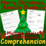 Merry Christmas, Amelia Bedelia : Comprehension & Multiple Choice Worksheets