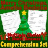 Merry Christmas, Amelia Bedelia Comprehension Quiz Multiple Choice Short Answer