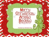 Merry Christmas Amelia Bedelia- Reading Response Activities