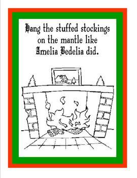 Merry Christmas, Amelia Bedelia by Peggy Parish - Fun Activity Book