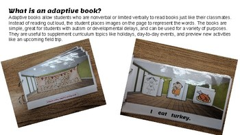 Merry Christmas: An adaptive book for nonverbal students