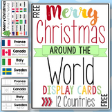 Merry Christmas Around the World Cards