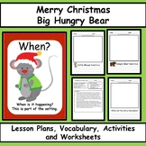 Merry Christmas Big Hungry Bear - Reading Comprehension Le