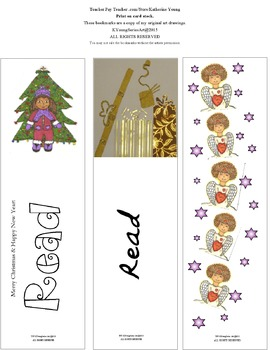 Merry Christmas (Bookmarks)
