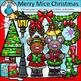 Merry Christmas Clip Art Bundle - Chirp Graphics