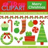 Merry Christmas Clip Art (Digital Use Ok!)
