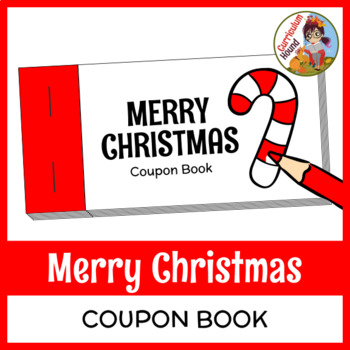 Merry Christmas Coupon Book By Curriculum Hound Tpt