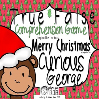 True False Comprehension Game inspired by Merry Christmas