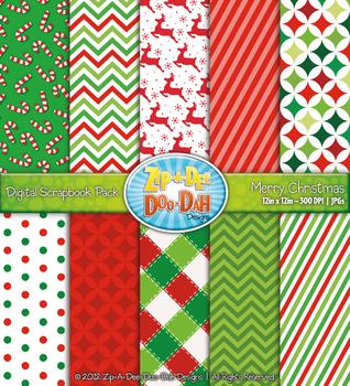 Merry Christmas Digital Scrapbook {Zip-A-Dee-Doo-Dah Designs}