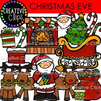 Merry Christmas Clipart {Creative Clips Clipart}