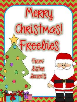 Merry Christmas!  Freebie