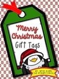 Merry Christmas Gift Tags-FREEBIE