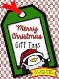 Merry Christmas Gift Tags-FREEBIE