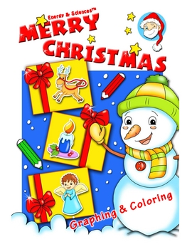 Merry Christmas Graphing and Coloring