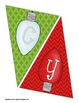 Merry Christmas & Happy Holidays Bunting Banner