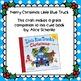 Merry Christmas Little Blue Truck Craft & Stick Puppets fo