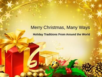 Merry Christmas, Many Ways