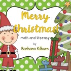 Merry Christmas Math and Literacy Activities