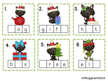 Merry Christmas Math and Literacy Pack