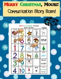 Merry Christmas, Mouse! Communication/Story Board, Autism, Speech and Language