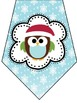 Merry Christmas Owl Banner/Bunting FREEBIE