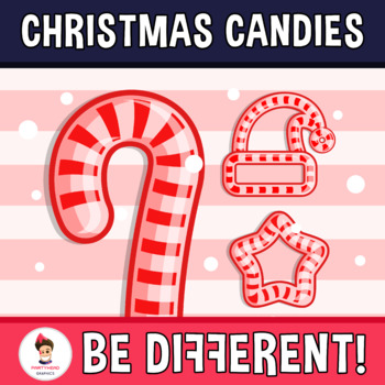 Merry Christmas Packs - Candies 1 Clipart
