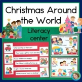 Merry Christmas! Holiday Sentence Picture Match Reading Center