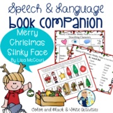 Merry Christmas Stinky Face Book Companion:  Speech Language Therapy Activities