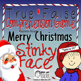 True False Comprehension Game inspired by Merry Christmas Stinky Face
