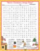 Merry Christmas Strega Nona Activities dePaola Crossword Puzzle & Word Searches