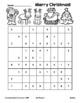 Merry Christmas Sudoku! Christmas Sudoku Puzzle FUN! (Black Line)
