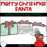 Merry Christmas Writing Craft - Christmas Craft & Writing Activity
