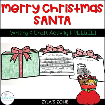 Merry Christmas Writing Clipart.Merry Christmas Writing Craft Christmas Craft Writing Activity
