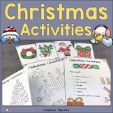 Christmas Activities - Flashcards, Crackers, Games and More