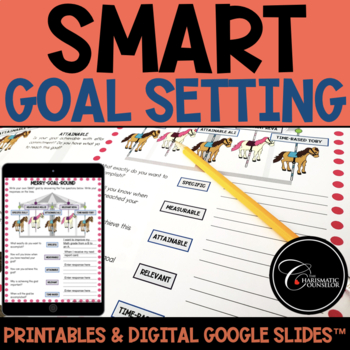 Merry-Goal-Round: SMART Goals (from Resilience Park)