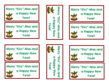 Merry Kiss-Mas Treat Tags