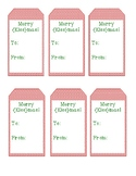 Merry Kissmas Gift Tag