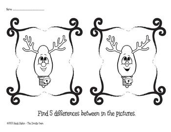 Christmas Print-Ready Fun Activity Pack