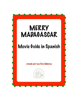 Merry Madagascar Movie Guide in Spanish