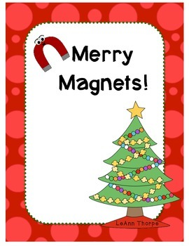 Merry Magnets at Christmas Time