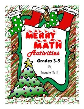Merry Math Christmas Activity Pack