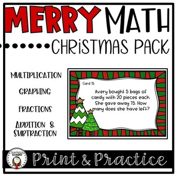 Merry Math - Christmas Activities, Games and Worksheets