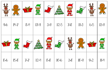 Merry Math Differentiated K-5 Math Center Board Game