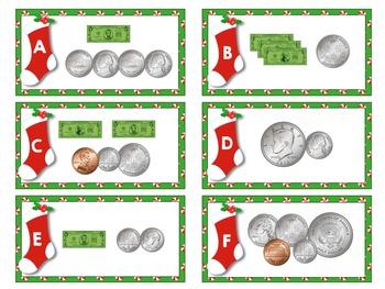 Merry Math ~ Money Math Station