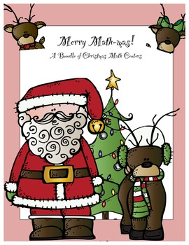 Merry Math-mas: Christmas Themed Math Activities and Centers